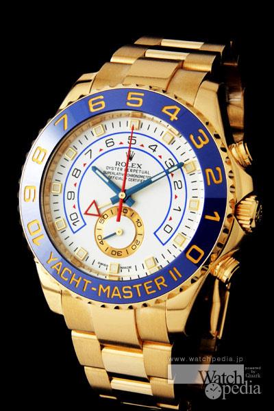 official photos c17ea 1be59 ロレックス ヨットマスター II - YACHT-MASTER II   Watchpedia