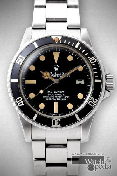 half off 8fb25 9523f ロレックス シードゥエラー Ref.1665 - SEA-DWELLER Ref.1665 ...