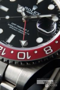 GMT機能(ロレックス GMTマスターII Ref.116719)